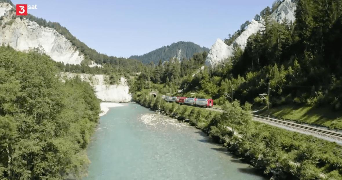 Traumhafte Bahnstrecken der Schweiz: